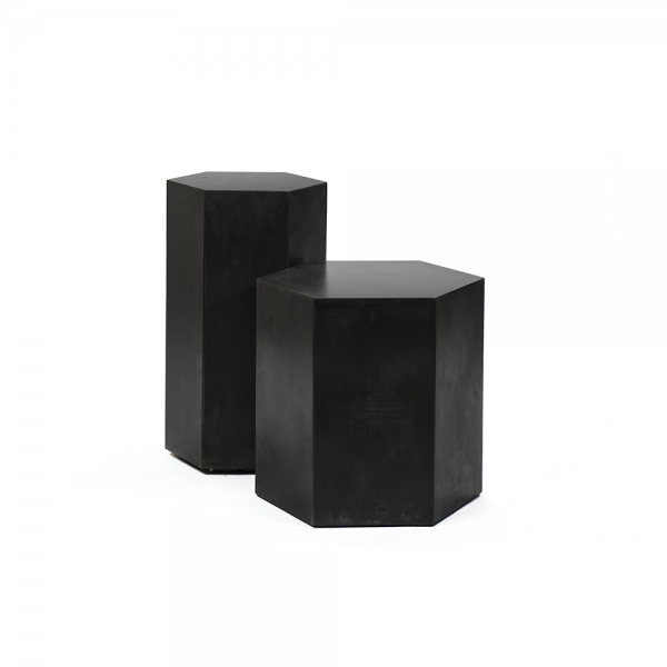 Hexagonal Side Table #3-030