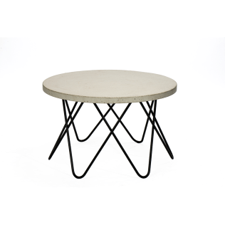 Round Table with A Concrete Surface #3-009C