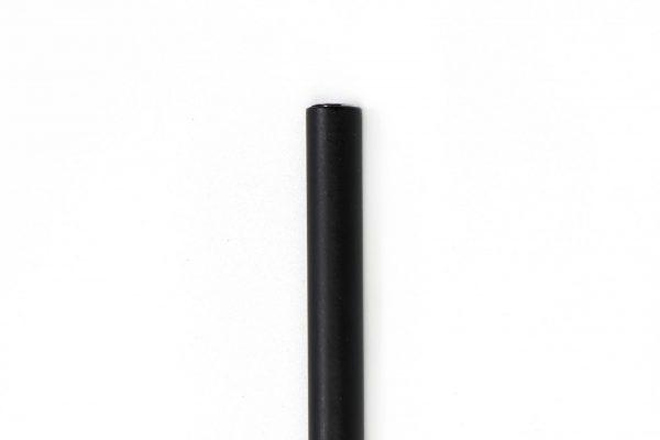 Black matte Tubular Mezuzah For 12-cm Scroll