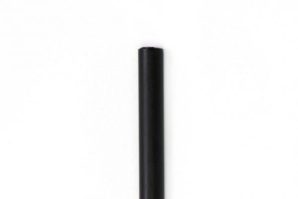 """מזוזה צינורית לקלף 10 ס""""מ בצבע שחור מט"""