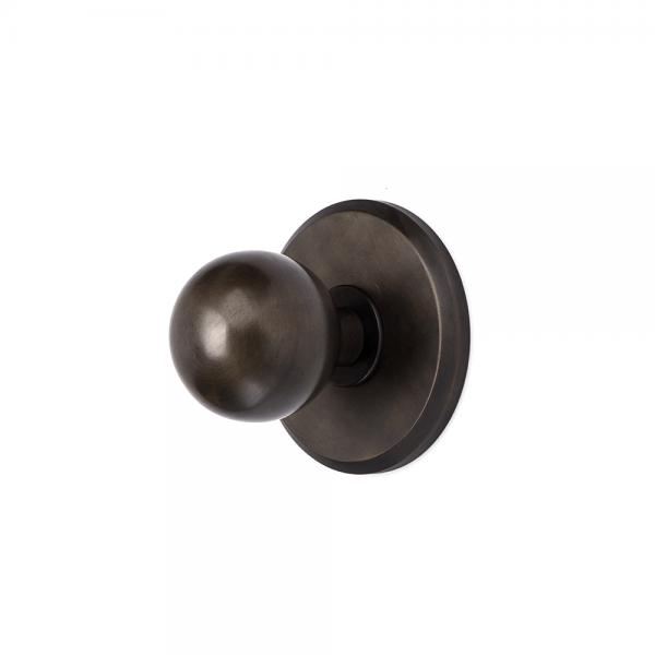 #5-104 כפתור אחיזה סטטי כדור על פלטה