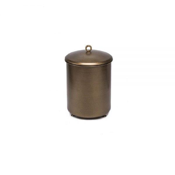 #7-617 פח בינוני עם כפתור טבעת