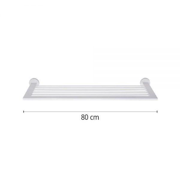 #7-662 מוט למגבות עם 6 צינורות קו מודרני בחיבור לקיר