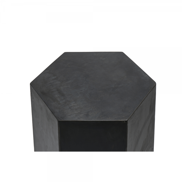 שולחן צד בצורת משושה #3-030