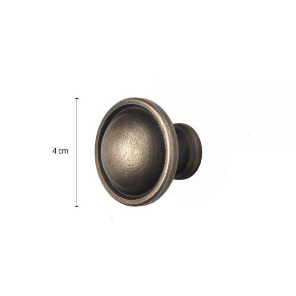 #6-835 כפתור חרוט לריהוט