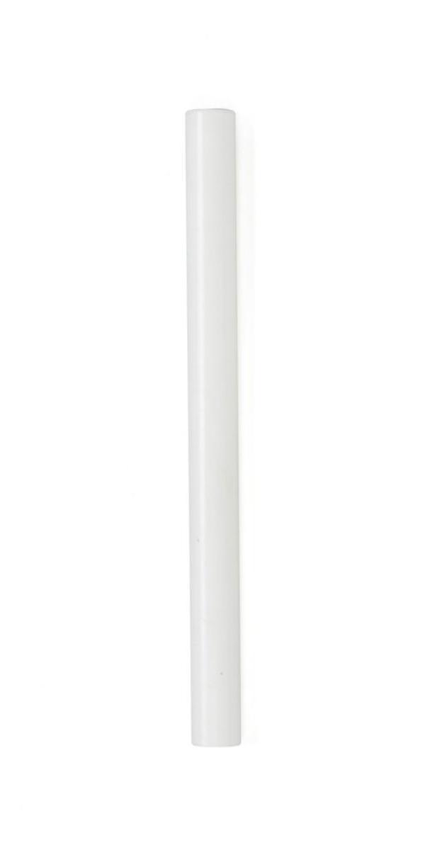 """#9-530 מזוזה צינורית לקלף 10 ס""""מ בצבע לבן מט"""