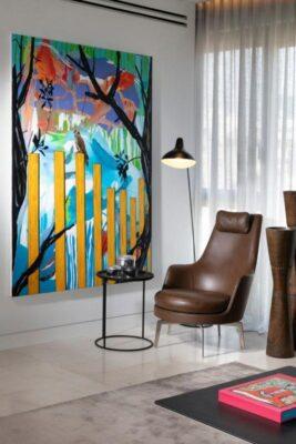 הדרמה עוברת לקירות- עיצוב של יוסי פרידמן