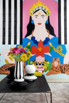 הדרמה עוברת לקירות- עיצוב של גילי אונגר
